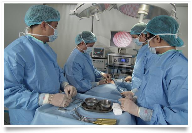 Phòng phẫu thuật được thực hiện an toàn tại Bệnh viện