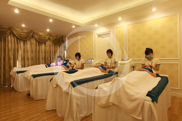 Phòng spa chăm sóc da đẳng cấp và sang trọng