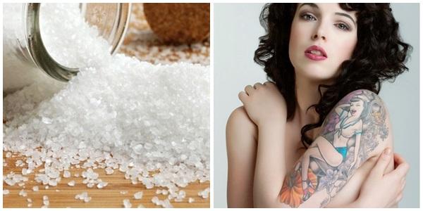 Xóa hình xăm bằng muối tại nhà có thực sự hiệu quả?