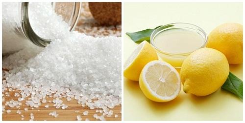 Tẩy vết xăm đơn giản bằng phương pháp thủ công dùng muối và chanh