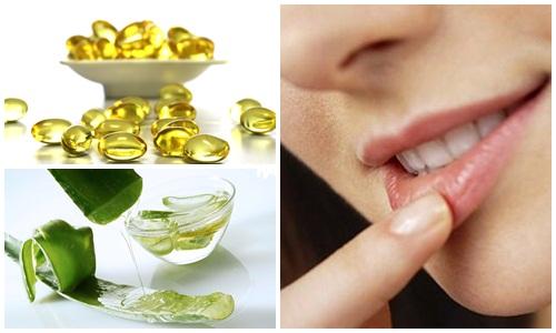 Mẹo xóa xăm môi bằng lô hội có thể thực hiện hàng ngày
