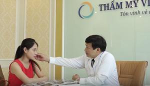 Cận cảnh quy trình xóa xăm mí mắt tại TMV Đông Á